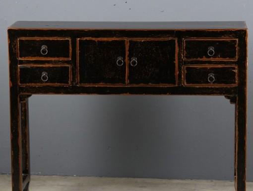 Lady cabinet black